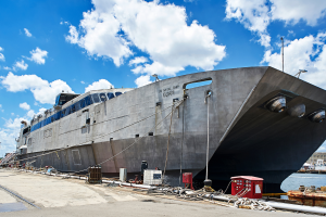 USNS Guam high-speed transport vessel conversion